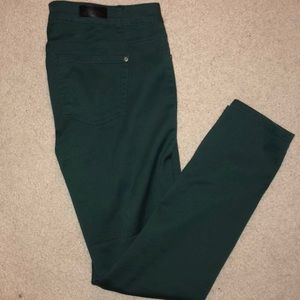 Celebrity Pink Jeans Green High Rise Skinny